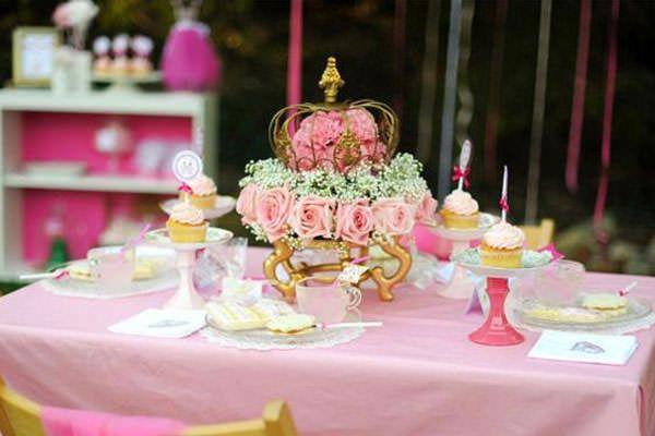 Fiesta temática de princesas
