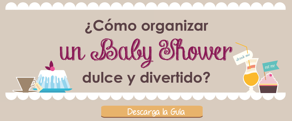 Guía para organizar un baby shower