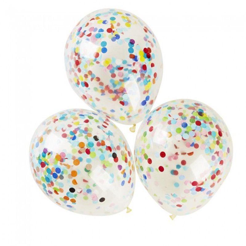 Globos de confeti