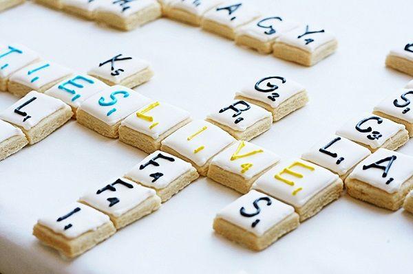 Galletas con letras