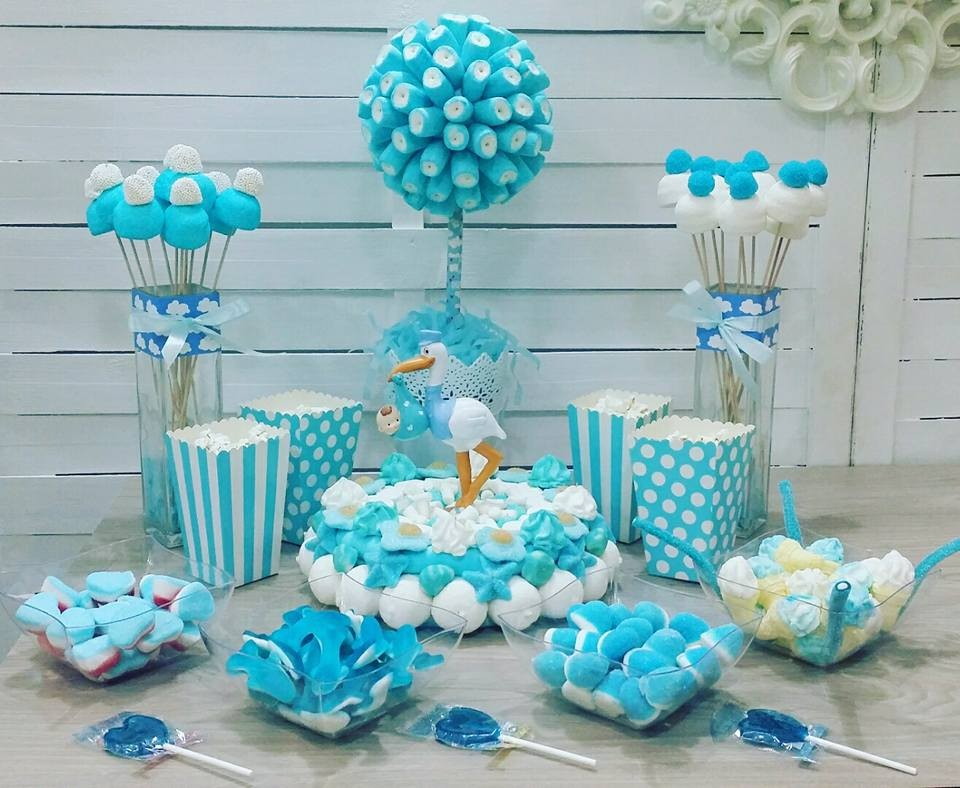 Decoraciones de baby shower home design ideas for Mesa baby shower nino