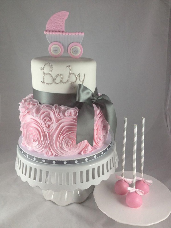 Pasteles, ideas para baby shower