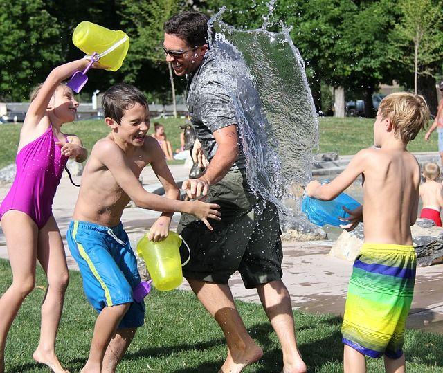 Organizar fiestas de verano