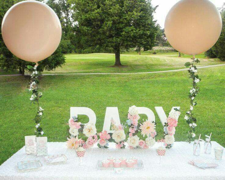 Detalles especiales para baby shower