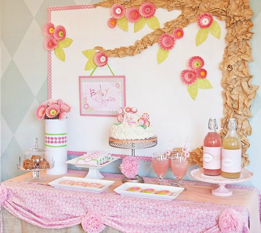 C Mo Decorar Un Baby Shower Para Ni As Muy Femenino