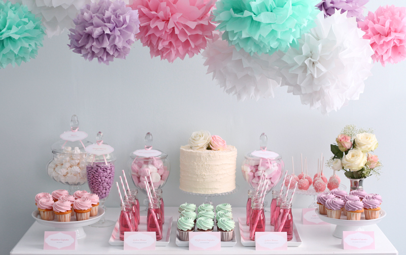 Ideas para decorar mesa de banquete para bautizo
