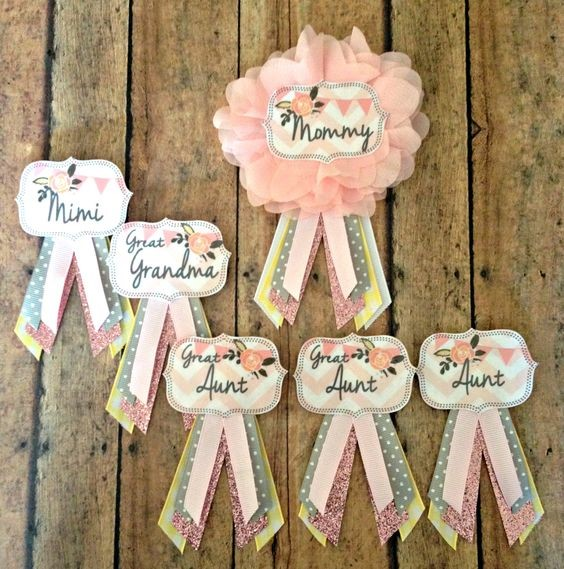 Ideas y detalles baby shower
