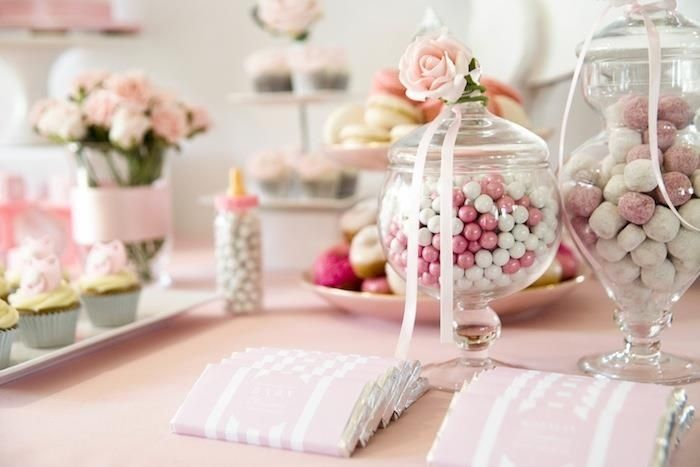 Candy bar para baby shower