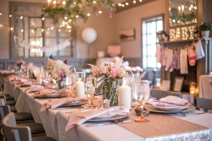 Organizar baby shower en restaurante