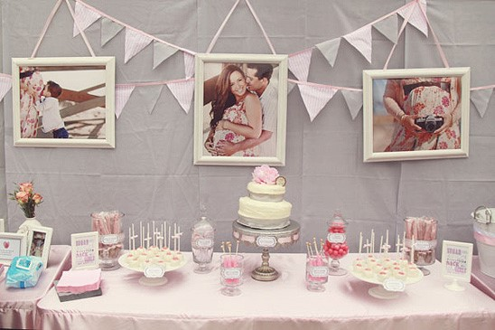 Decoración Salones para baby shower