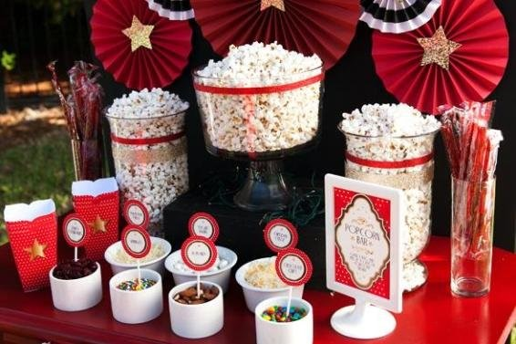 Ideas Popcorn bar