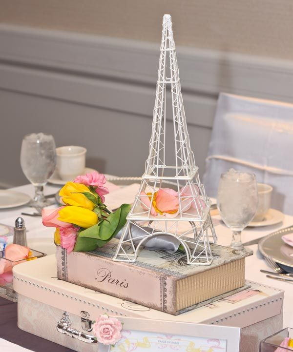 Ideas para baby shower parisino