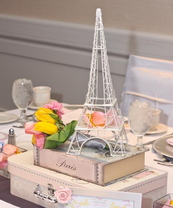Ideas para baby shower parisino