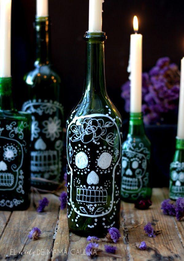 Ideas económicas para decorar en Halloween