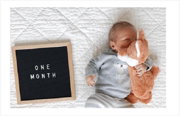 Ideas para celebrar cumple mes