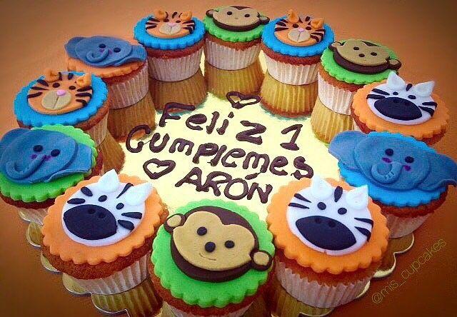 Cupcakes para cumple mes