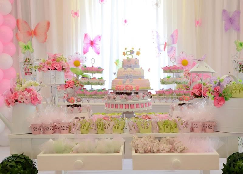 Ideas De Decoracion Baby Shower Nina.7 Ideas Para Decorar El Candy Bar De Tu Baby Shower