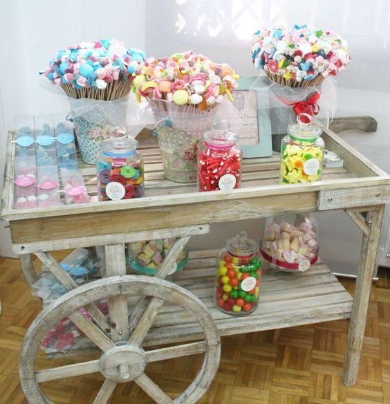 Ideas para mesa dulce