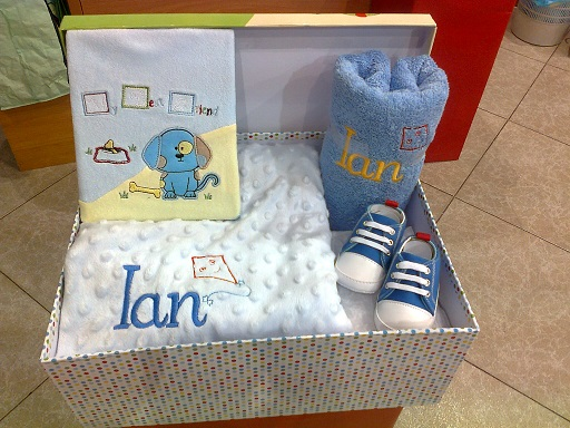 Regalos baby shower personalizado