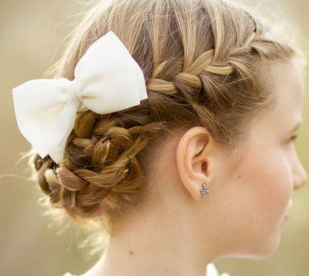 Ideas de peinados para comunión