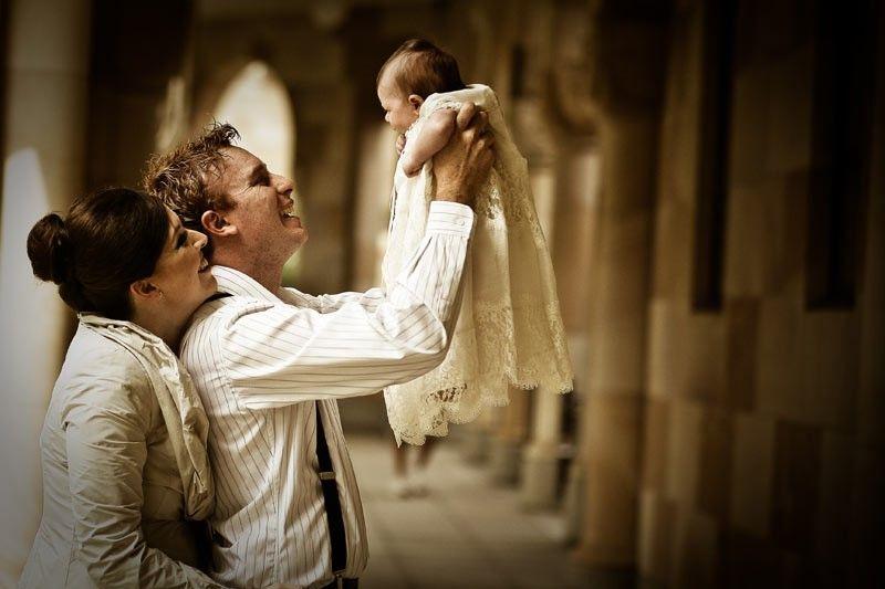 Ideas para fotografías de bautizo