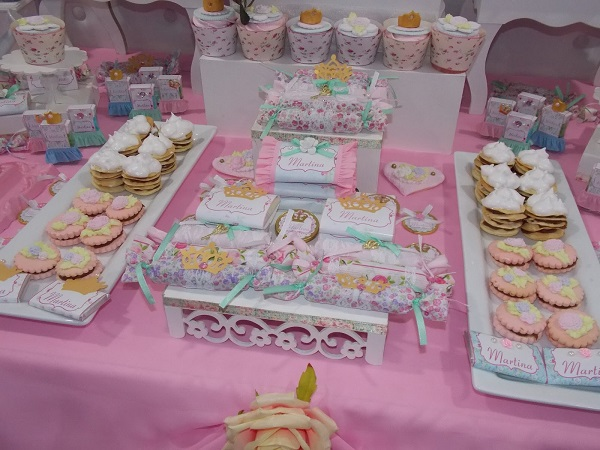 Ideas para decorar un candy bar de princesas