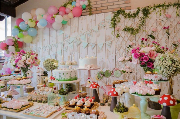 Ideas baby shower primavera
