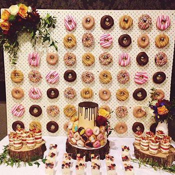 Las donuts una alternativa deliciosa para las fiestas