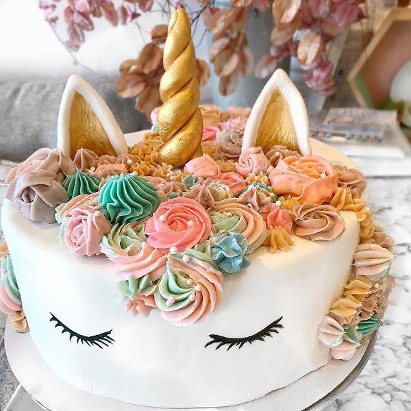 Pastel de Unicornios- Decoración de fiesta