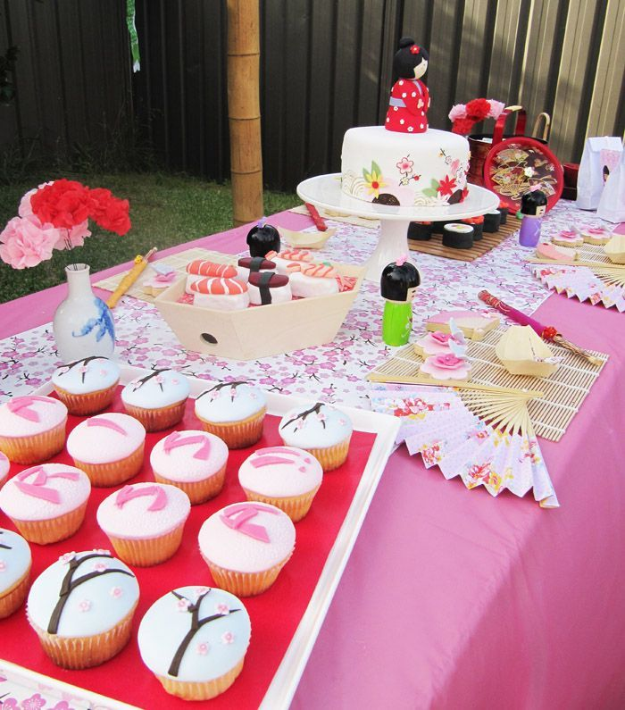 baby shower al estilo chino