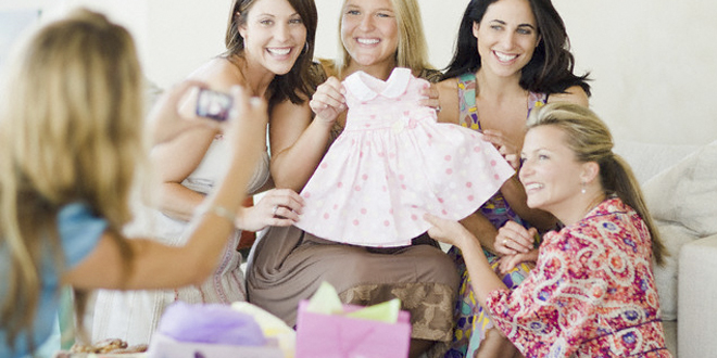 ideas para organizar un baby shower