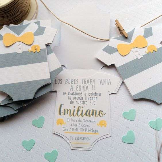 invitación para baby shower