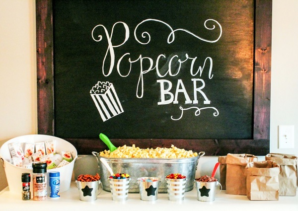 Ideas de pop corn bar