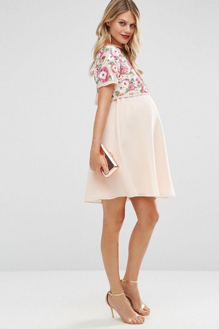 vestidos modernos, cortos y sueltos