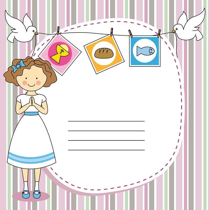 ideas de invitación para comunión