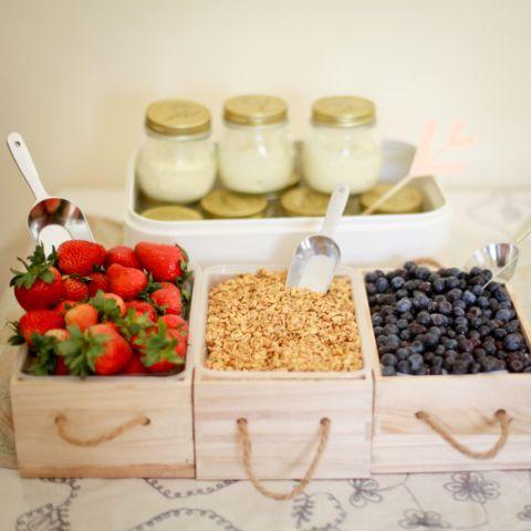 Combinalos con frutas