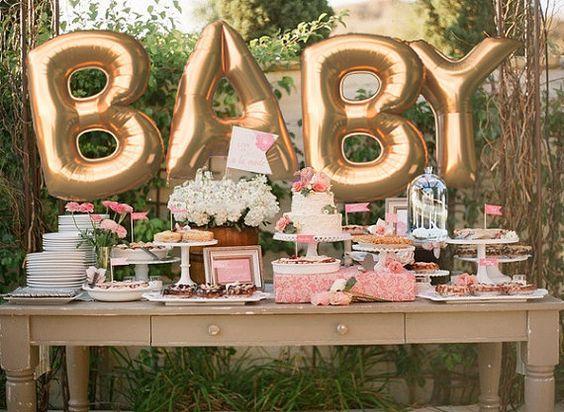 Consejos para organizar un baby shower en el jardín