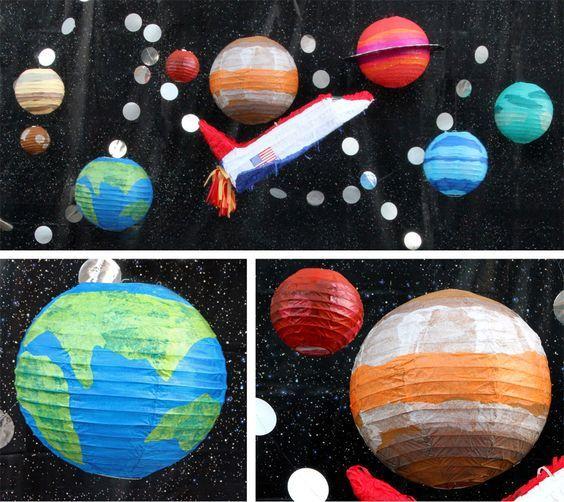 Elementos decorativos para cumpleaños infantil