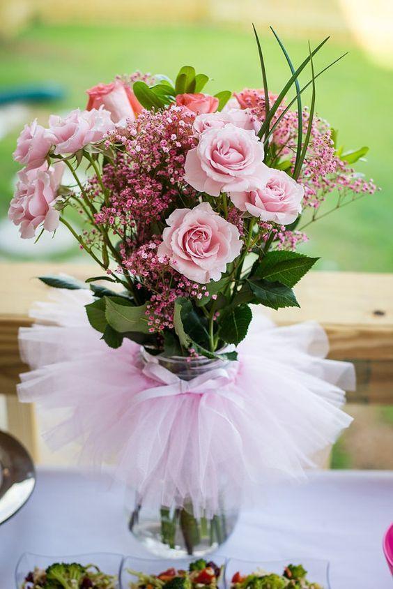 Flores naturales para organizar un bautizo en verano