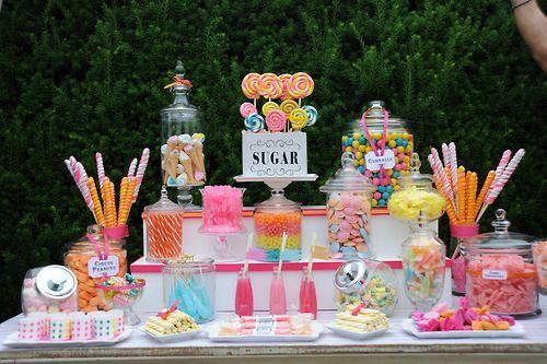 trucos para armar un candy bar perfecto