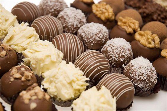 Trufas heladas para Candy bar