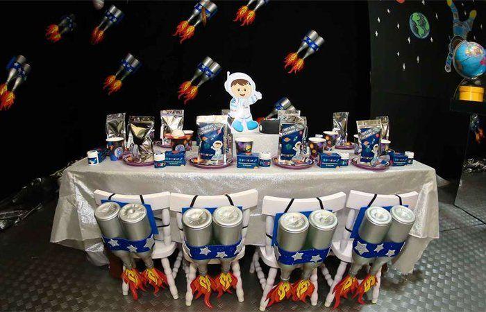 Cumpleaños espacial, fiesta temática infantil