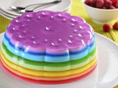 Los mejores postres con gelatina para fiestas infantiles