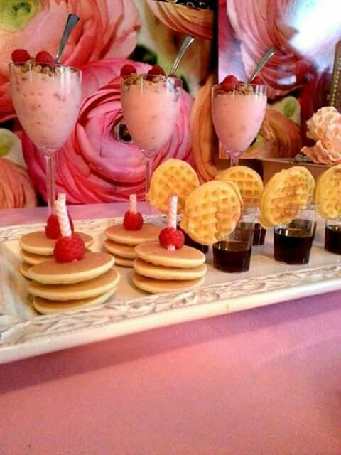 Candy waffles bar