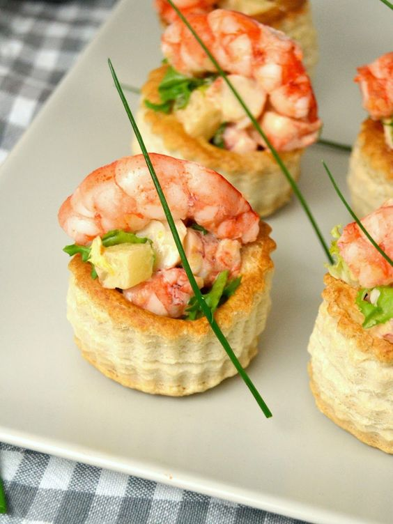 Fiesta veraniega con tartaletas de ensaladilla