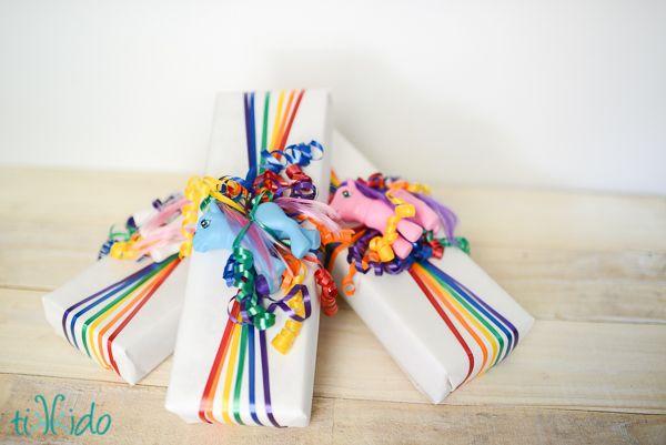 Presentes coloridos y alegres