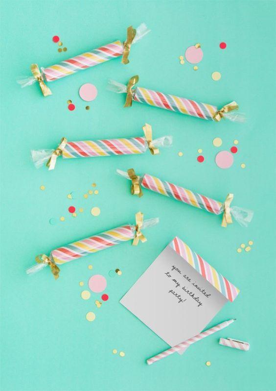 Caramelos coloridos
