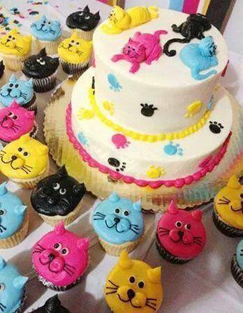Decoración estilo cupcakes y galletas