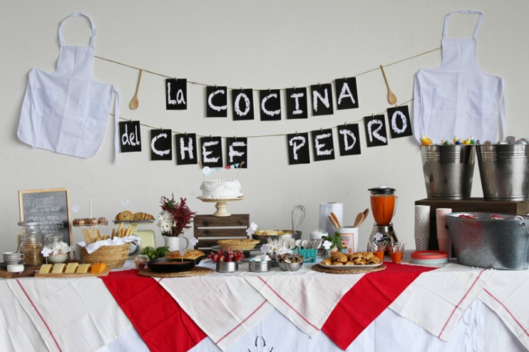 Decoración estilo chef