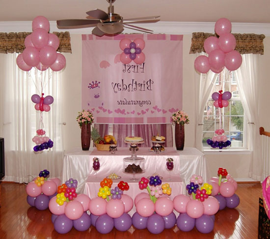 Globos para decorar un cumpleaños